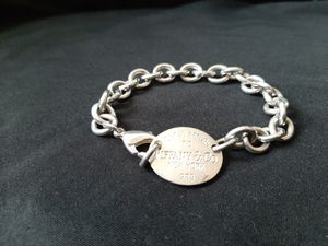 "Please Return to Tiffany & Co 925 Oval Tag, 8"" Bracelet for Sale in Peoria, AZ"