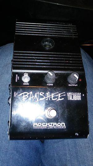 Banshee amplifier talkbox for Sale in Denver, CO