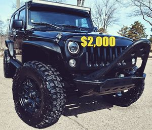 🍁$2,OOO Selling my 2010 Jeep Wrangler.🍁 for Sale in Billings, MT