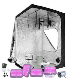 5x5 heavy duty Grow tent kit with 3/ 300w full spectrum led Grow lights, ventilation, carbon filter, temp monitor, adj hangers, timer. More options a for Sale in Colorado Springs, CO