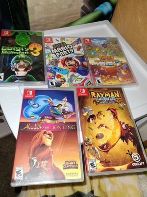 nintendo switch games for Sale in Oak Glen, CA