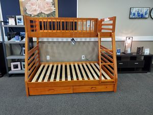 BRAND NEW Twin/Full Bunk Bed for Sale in West Columbia, SC
