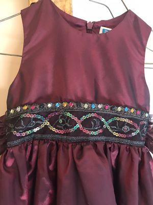 Satin Metallic Girls Dress for Sale in Van Buren Charter Township, MI