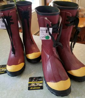 """Used, LaCrosse Industrial boots, 12"""" Insulated Pac Steel Toe for Sale for sale  Clark, NJ"""