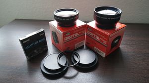 Sakar screw on lens adapters - BRAND NEW for Sale in Encinitas, CA