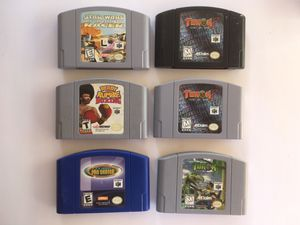 Various Nintendo 64 videogames for Sale in Chino, CA