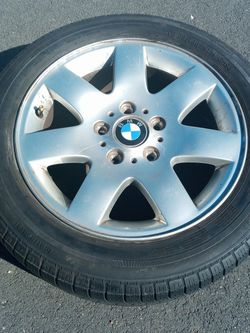 16 In OEM BMW Wheel With Continental Tire for Sale in Woodbridge,  VA