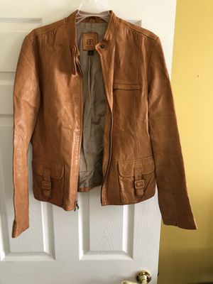 Banana Republic 100% women leather jacket (Large) for Sale in MD, US