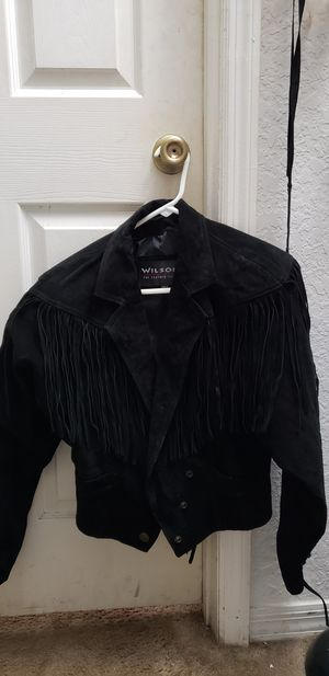 Suede fringed jacket for Sale in Windermere, FL