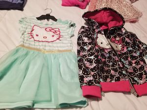 4t hello kitty dress and jacket for Sale in Livonia, MI