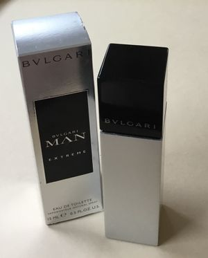 BVLGARI MAN EXTREME .5 OZ / 15 ML - EAU DE TOILETTE - VAPORIZER SPRAY - NIB for Sale in Huntington, NY