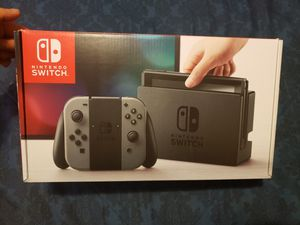 Nintendo Switch - Gray Joycons for Sale in French Camp, CA