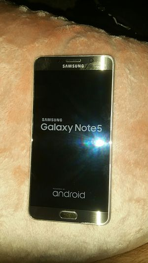 Samsung Galaxy Note 5 Sprint for Sale in Salt Lake City, UT