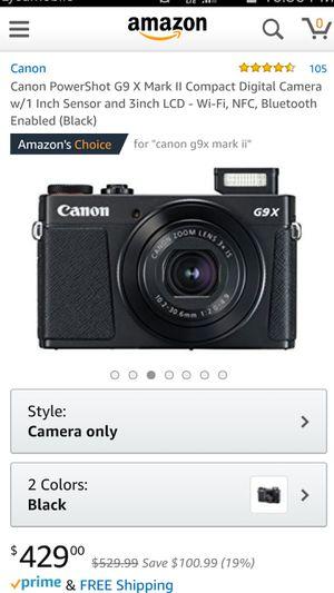 Canon camera for Sale in Baltimore, MD