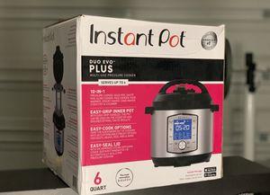 Instant Pot Duo Evo Plus for Sale in Seagoville, TX