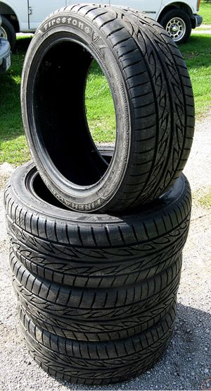 205/55R16 91H Firestone Firehawk tires 4 for Sale in Baltimore, MD