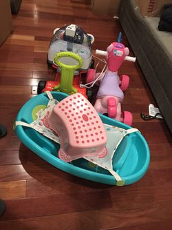 Baby Toys, Bathtub And Breast Pump For Free  for Sale in Providence, RI