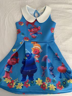3-4T custom made Trolls Dress for Sale in Las Vegas, NV