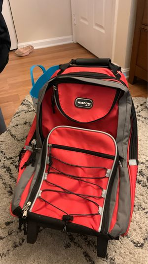 Wisdom backpack with wheels for Sale in Gaithersburg, MD