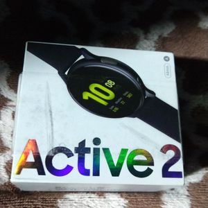 SAMSUMG GALAXY ACTIVE 2 44MM BLUETOOTH WATER RESSISTAN SMART BLACK COLOR for Sale in Irvine, CA