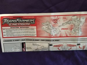 Transformers Instruction Manuals for Sale in Lexington, SC