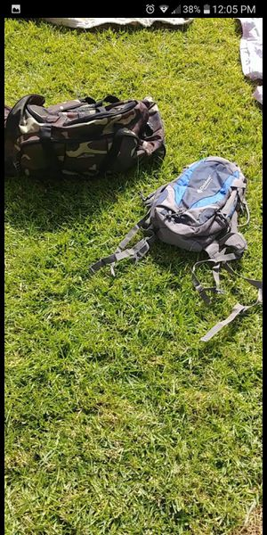 Duffle back and hiking backpack for Sale in Selma, CA