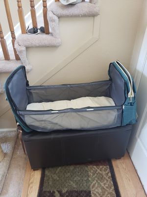Back Pack Diaper Bag with Crib NEW for Sale in Brighton, CO