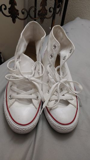 white converse for Sale in Las Vegas, NV