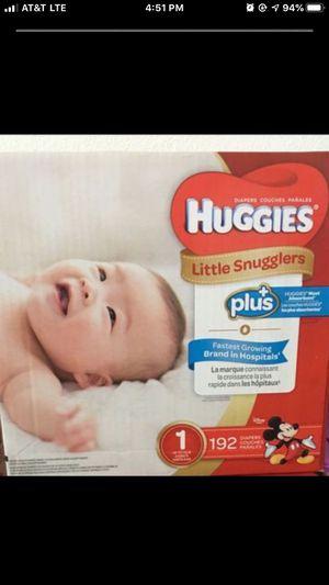Huggies diapers! 192 counts. Brand new. for Sale in Elk Grove, CA