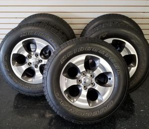 Jeep Wrangler wheels and tires for Sale in Union City, NJ