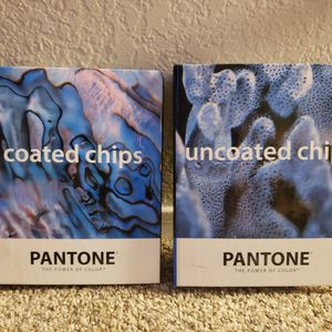 PANTONE COLOR SPECIFIER UNCOATED & COATED CHIPS BOOK SET for Sale in Dallas, TX