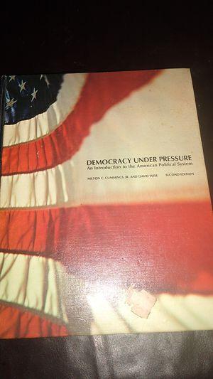 DEMOCRACY UNDER PRESSURE TEXTBOOK for Sale in KINGSVL NAVAL, TX