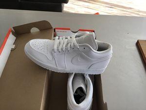 New Men's Air Jordan 1 Low size 9 for Sale in National City, CA