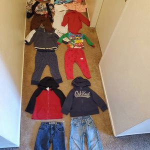 Excellent Condition Size 2t Boy Clothes All For 25 for Sale in Anaheim, CA