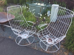 Vintage Homecrest wrought iron patio furniture for Sale in Tacoma, WA