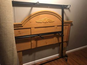 Bed frame and head rest for Sale in Festus, MO