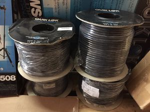 Pro Audio Cable Reels One Day Only! for Sale in Dania Beach, FL