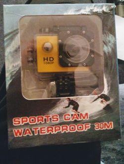 HD waterproof sports camera. New for Sale in East Wenatchee,  WA