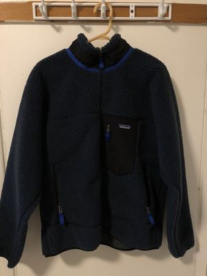 Patagonia Classic Retro-X Fleece Jacket Size Large Navy for Sale in Monterey Park, CA