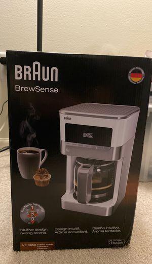 Braun BrewSense Coffee Maker for Sale in Kalamazoo, MI
