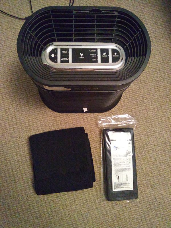Honeywell air purifier with spare filters