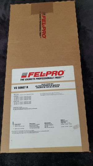 Fel-pro valve cover set for Sale in El Cajon, CA