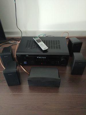 Sony audio receiver and five speakers for Sale in Alexandria, VA