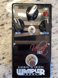 Wampler Velvet Fuzz Pedal for Sale in New Port Richey,  FL