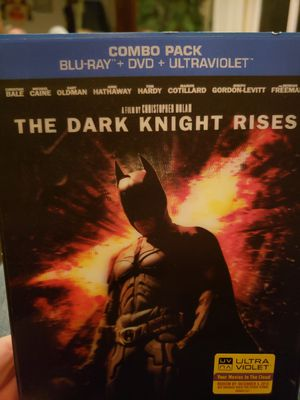The Dark Knight Rises Blue Ray DVD for Sale in Portland, OR