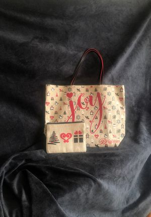 Brighton Holiday Tote and Cosmetic Bag for Sale in Sacramento, CA