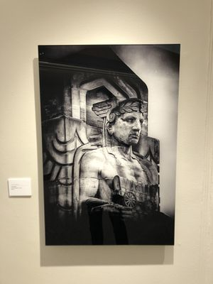 Support local art; Large The Guardian acrylic fine art for Sale in Cleveland, OH