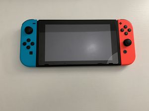 Nintendo switch V2 with original box and charger for Sale in Chantilly, VA