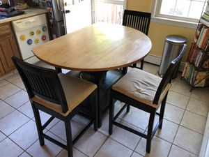 Crate and Barrel Belmont Kitchen Table/Island for Sale in Belmont, MA