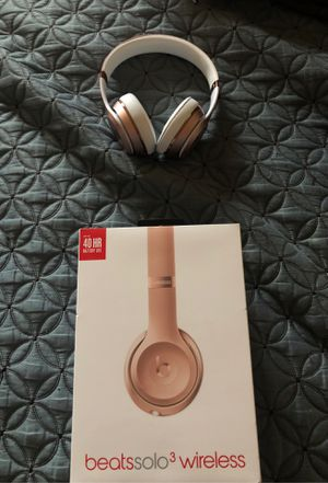 Beats Solo3 Wireless Headphones for Sale in Hesperia, CA